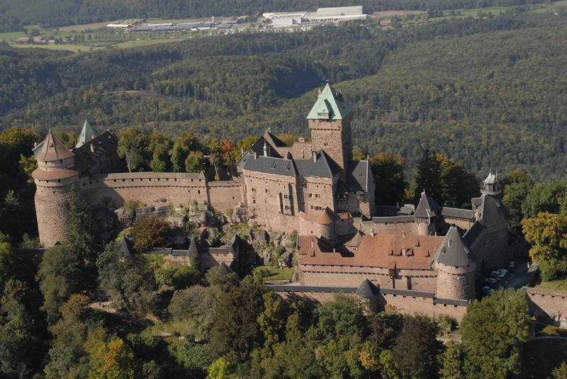 Chateau de haut koenigsbourg alsace ch teaux de france for Haute de france