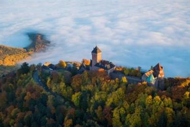 Haut-Koenigsbourg castle provides the best landscape... - © Tristan Vuano