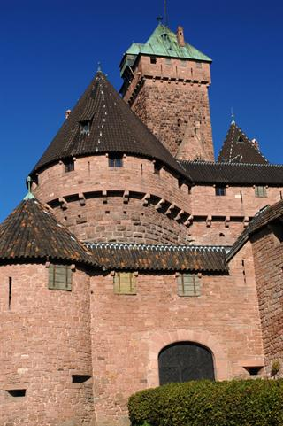 Haut-Koenigsbourg castle seen from the East © Jean-Luc Stadler - Haut-Koenigsbourg castle, Alsace, France
